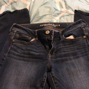 American Eagle jeans kick boot size 10